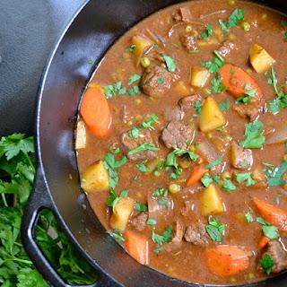 Chunky Beef Stew.