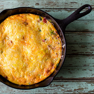 Baked Provolone and Sausage Frittata Recipe
