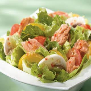 Salmon Summer Salad.