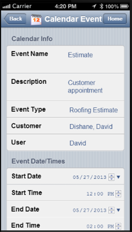 Roofing Estimator Pro Mobile- screenshot