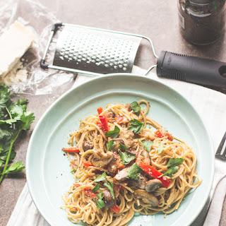Lightened-Up Pasta Carbonara