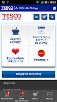 Screenshot of Gazetki Tesco
