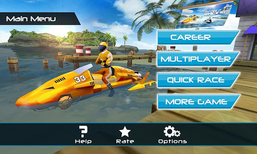 Powerboat Racing 3D Screenshot