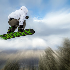 Takeoff by Jay Woolwine Photography - Sports & Fitness Snow Sports ( snowboard, boarding, snowboarding, snowboarder )