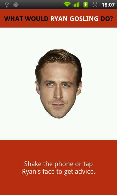 What Would Ryan Gosling Do? - screenshot