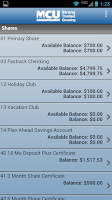 Screenshot of NYMCU Mobile Banking