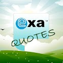 Exa Quotes logo