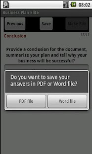 Business Plan  (PDF & Word) - screenshot thumbnail