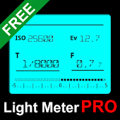 Digital Light Meter Pro free