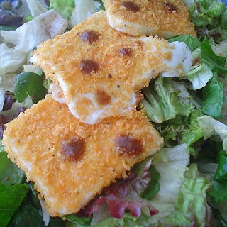 Baked Goat Cheese Salad.