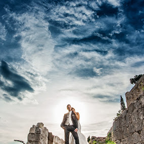 by Zeljko Marcina - Wedding Bride & Groom ( klis, wedding, croatia, split )