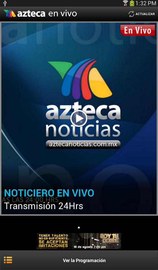 there Russian tv azteca en vivo canal 7 hoy free