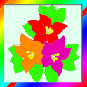 Flowers Coloring Book Game icon