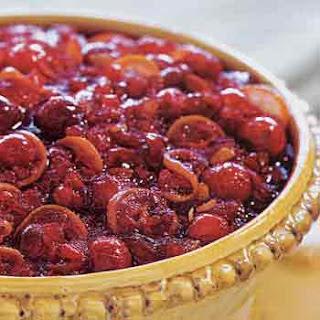 Gingered Cranberry and Kumquat Relish.