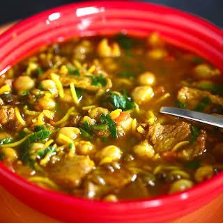 Harira (Moroccan Soup ) for Ramadan.