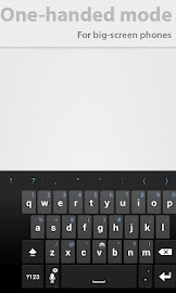 Thumb Keyboard Screenshot 5