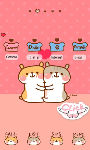 CUKI Theme Couple Hams