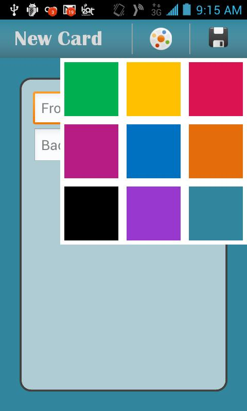 Color Flash Cards- screenshot