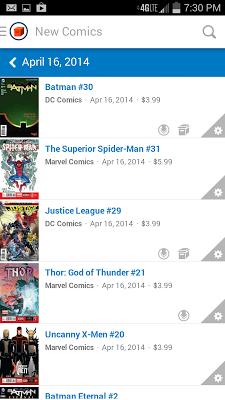Comic Geeks - screenshot
