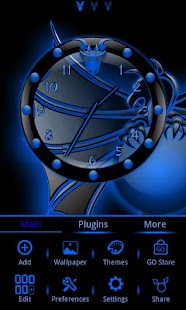 Dragonglow 2 Clock Widget- screenshot thumbnail
