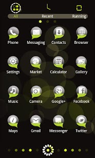 Bubble Theme GO Launcher EX - screenshot thumbnail