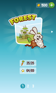 玩免費街機APP|下載Hungry Bunny app不用錢|硬是要APP