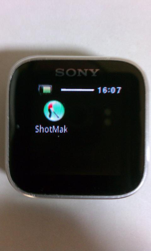 ShotMaker SmartWatch - screenshot