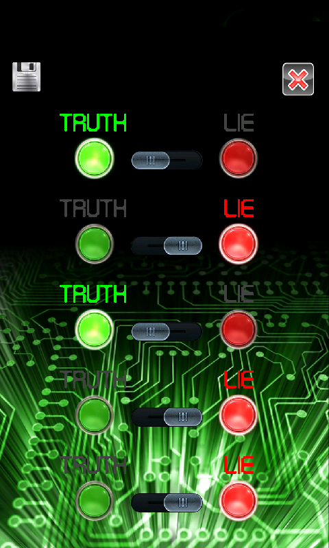Lie Detector Simulator Fun- screenshot