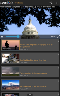 Post TV: Video News - screenshot thumbnail