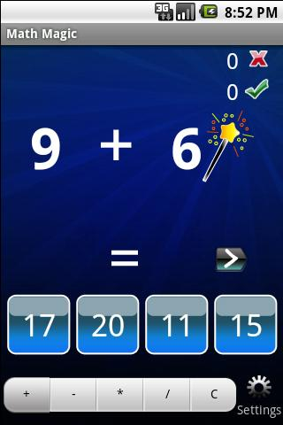 Math Magic- screenshot