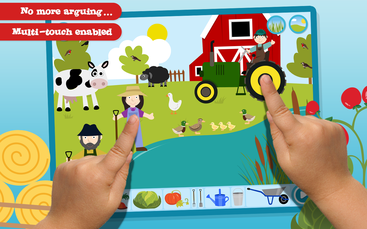 Make a Scene: Farmyard (pocket)- screenshot