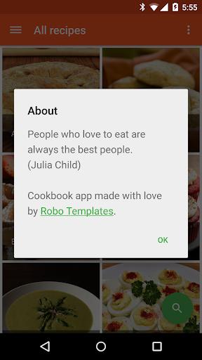 【免費程式庫與試用程式App】Cookbook Demo-APP點子