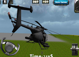 Screenshot of Helicopter 3D flight simulator