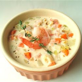 Christmas Seafood Soup.