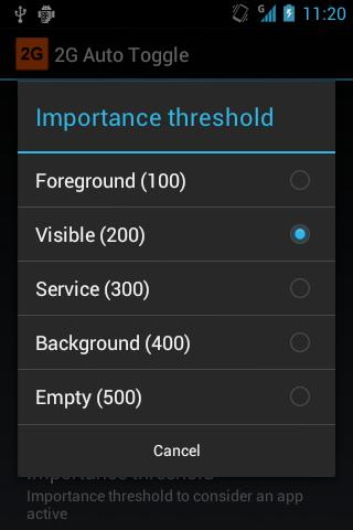 2G Auto Toggle (CyanogenMod) - screenshot