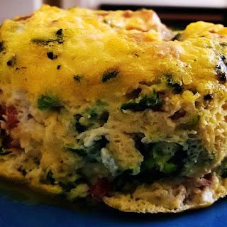 Healthy Jamon Serrano Omelette