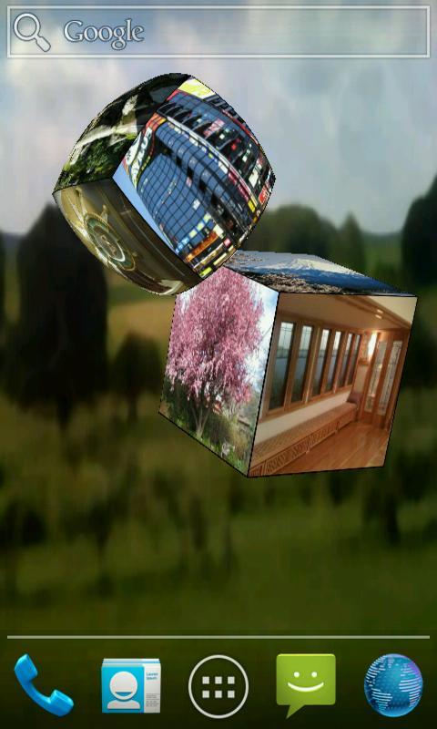 3D Pictures Live Wallpaper - screenshot