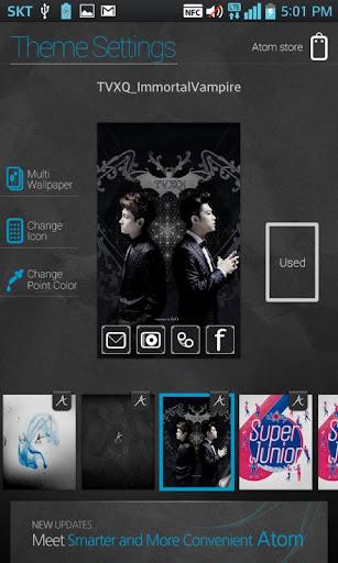 個人化必備APP下載|TVXQ! Immortal Vampire Atom 好玩app不花錢|綠色工廠好玩App