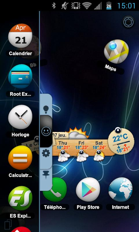 TSF Shell Theme Tfou HD - screenshot
