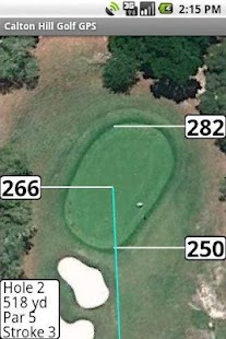 Calton Hill Golf GPS- screenshot thumbnail