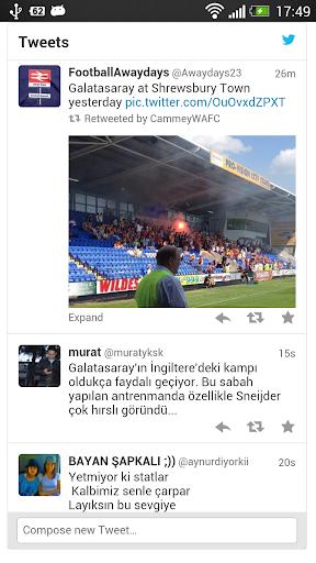 Galatasaray Tweetleri