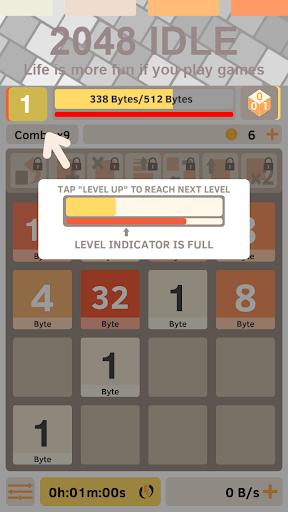 2048 IDLE:クリッカーよりもっと