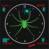 SPIDER CLOCK UCCW
