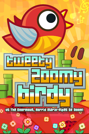 Tweety Zoomy Bird Pixel Pipes