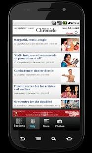 Deccan Chronicle - screenshot thumbnail