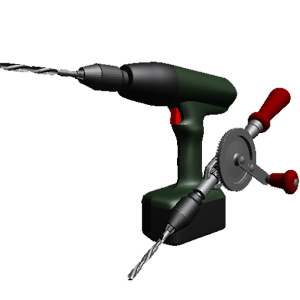 Hand Drill for PC and MAC