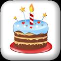 Birthdays calendar reminder icon