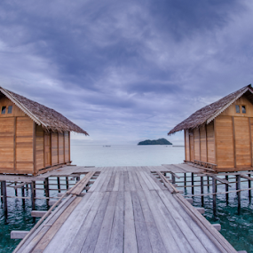 The two by Tamin Ibrahim - Buildings & Architecture Bridges & Suspended Structures ( home, hause, cottage, ocean, beach )