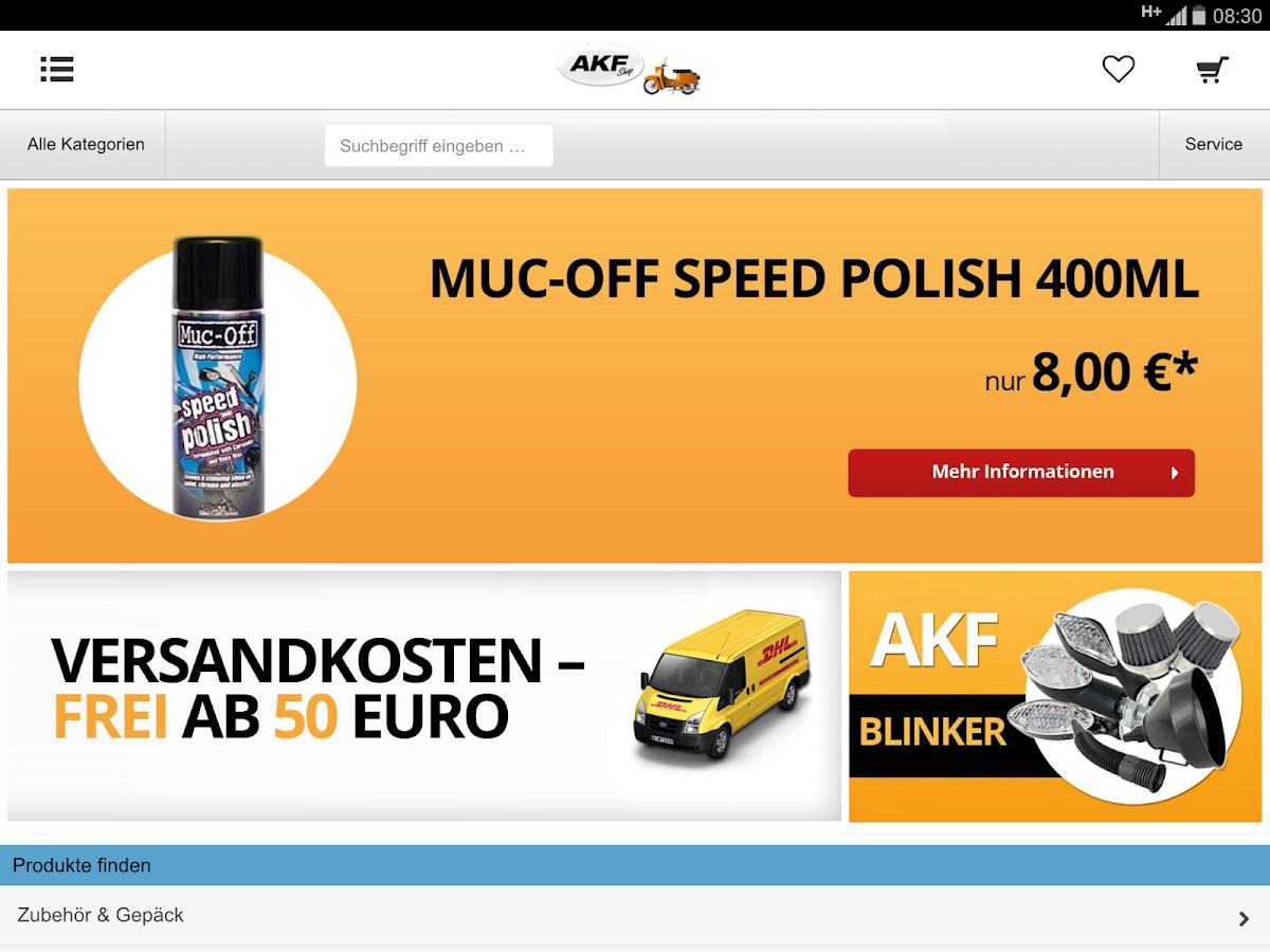 AKF Shop - screenshot