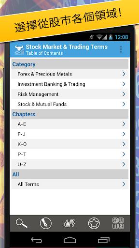 股票市場及交易條款